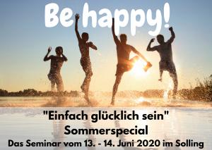 Seminar Be happy - einfach glücklich sein